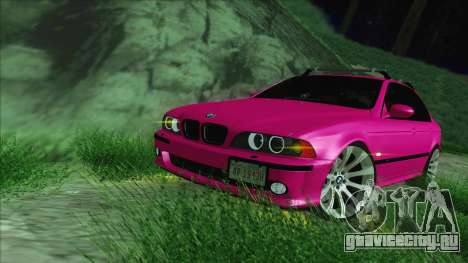BMW M5 E39 2003 Stance для GTA San Andreas вид изнутри