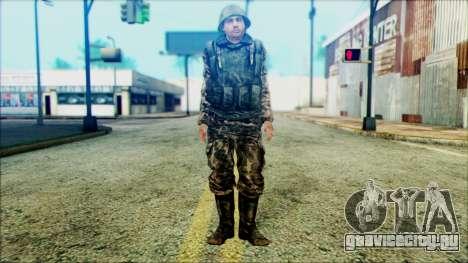 Солдат СА (WIC) для GTA San Andreas
