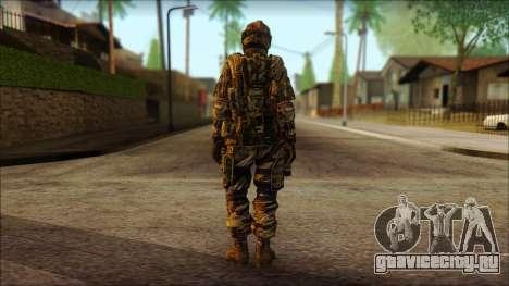 Солдат ЕС (AVA) v3 для GTA San Andreas второй скриншот