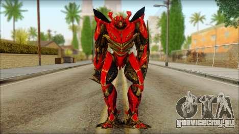 Дино Мираж (Трансформеры Темная сторона луны) v1 для GTA San Andreas