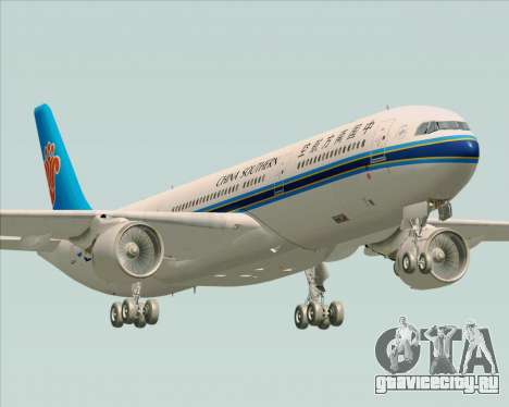 Airbus A330-300 China Southern Airlines для GTA San Andreas