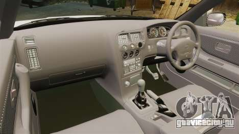 Nissan Skyline R33 1995 Infinite Stratos для GTA 4 вид сзади