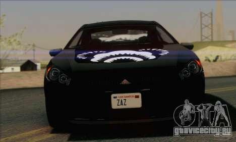 Maibatsu Penumbra 1.0 (IVF) для GTA San Andreas двигатель