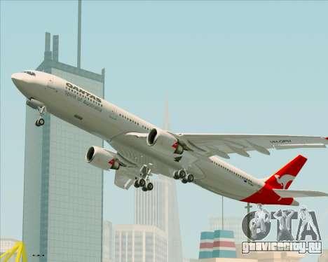 Airbus A330-300 Qantas для GTA San Andreas двигатель