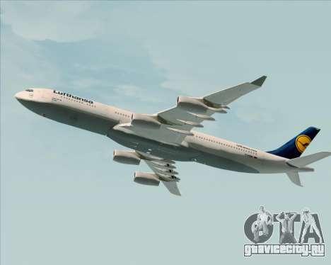Airbus A340-313 Lufthansa для GTA San Andreas