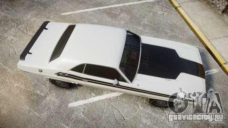 Dodge Challenger 1971 v2.2 PJ1 для GTA 4 вид справа