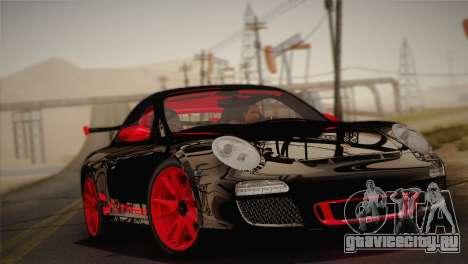 Porsche 911 GT3RSR для GTA San Andreas вид сзади слева