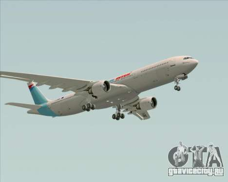 Airbus A330-300 Air Inter для GTA San Andreas вид снизу