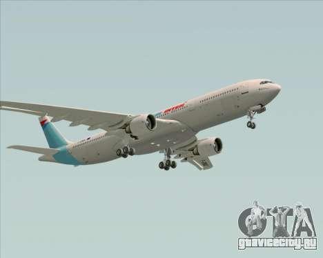 Airbus A330-300 Air Inter для GTA San Andreas вид снизу