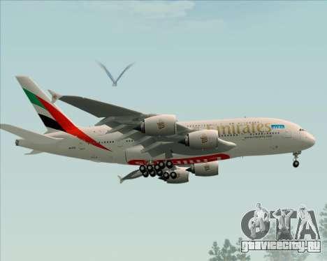Airbus A380-841 Emirates для GTA San Andreas