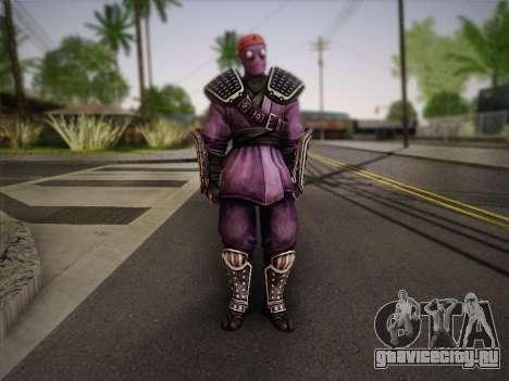 Foot Soldier Elite v2 для GTA San Andreas