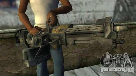 M247 Machine Gun Jorge Of Halo Reach для GTA San Andreas третий скриншот