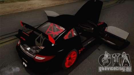 Porsche 911 GT3RSR для GTA San Andreas вид сбоку