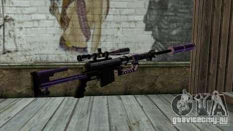 PurpleX Sniper Rifle для GTA San Andreas второй скриншот