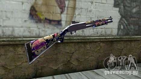 Graffiti Shotgun v3 для GTA San Andreas второй скриншот