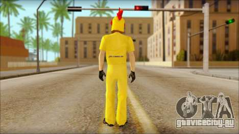 Новый торговец в Cluckin Bell для GTA San Andreas второй скриншот