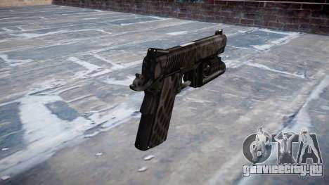 Пистолет Kimber 1911 Kryptek Typhon для GTA 4 второй скриншот