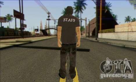 Прохожий (STAFF) для GTA San Andreas второй скриншот