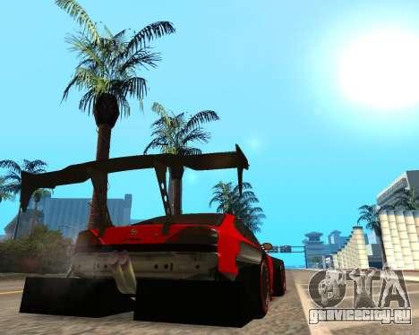 Slivia Red Planet для GTA San Andreas вид сзади слева