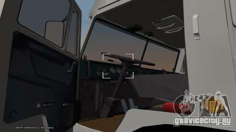 КамАЗ 54115 для GTA San Andreas вид сзади слева