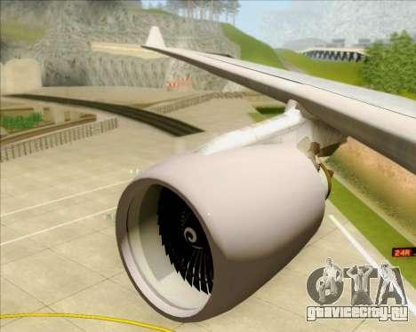 Airbus A330-200 Air China для GTA San Andreas колёса
