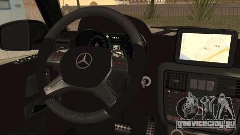 Brabus B65 v1.0 для GTA San Andreas вид сзади слева