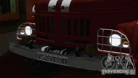 ЗиЛ 131 - АЦ40 для GTA San Andreas вид сзади