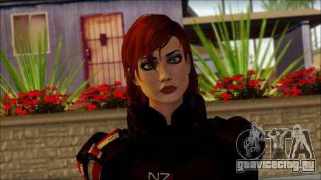Mass Effect Anna Skin v2 для GTA San Andreas третий скриншот