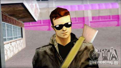 Shades and Gun Claude v1 для GTA San Andreas третий скриншот