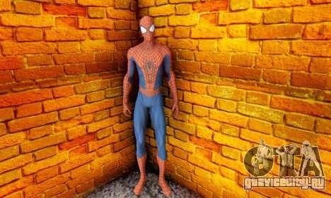 The Amazing Spider Man 2 Oficial Skin для GTA San Andreas четвёртый скриншот
