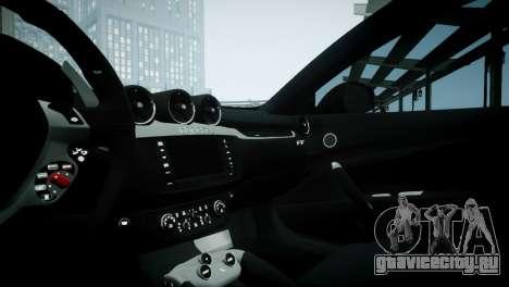 Ferrari FF для GTA 4 вид сзади