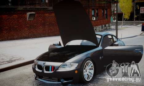 BMW Z4M для GTA 4 вид сзади слева
