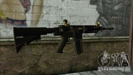 CAR-4 from Pay Day 2 для GTA San Andreas второй скриншот