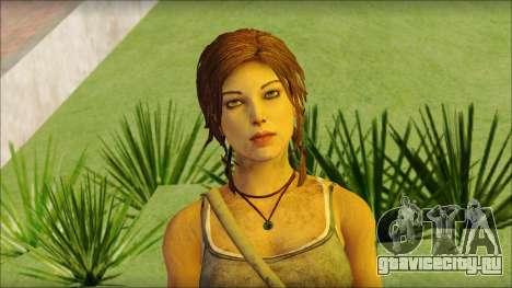 Tomb Raider Skin 12 2013 для GTA San Andreas третий скриншот
