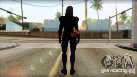 Mass Effect Anna Skin v2 для GTA San Andreas второй скриншот