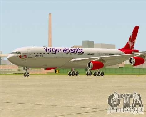 Airbus A340-313 Virgin Atlantic Airways для GTA San Andreas вид справа
