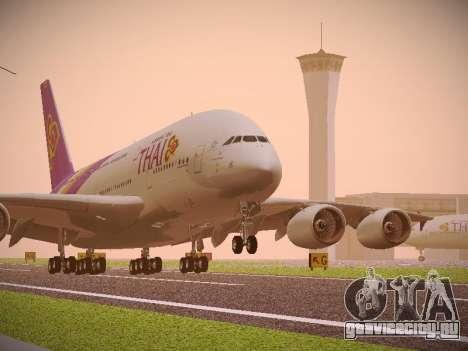 Airbus A380-800 Thai Airways International для GTA San Andreas