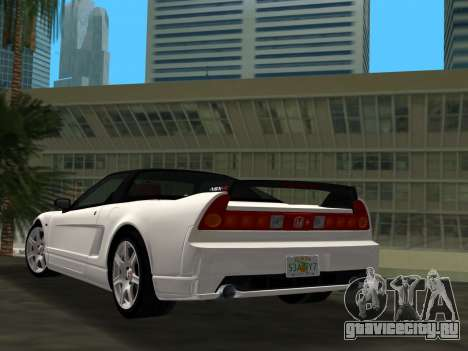 Honda NSX-R для GTA Vice City вид слева
