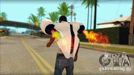 Modern Jetpack для GTA San Andreas второй скриншот