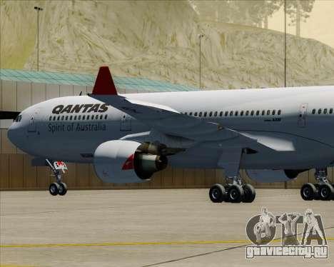 Airbus A330-300 Qantas для GTA San Andreas колёса