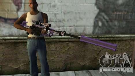 PurpleX Sniper Rifle для GTA San Andreas третий скриншот