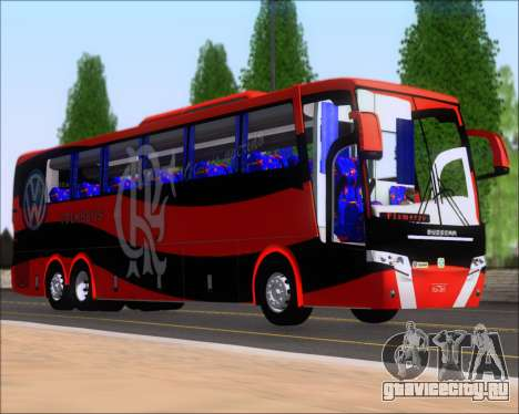 Busscar Elegance 360 C.R.F Flamengo для GTA San Andreas вид слева