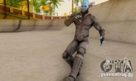 Skin Electro From The Amazing Spider Man 2 для GTA San Andreas