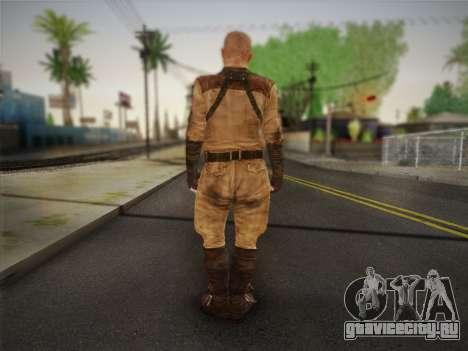 Павел (Metro Last Light) для GTA San Andreas второй скриншот