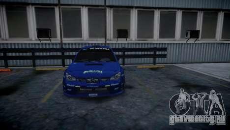 Subaru Impreza STI Group N Rally Edition для GTA 4