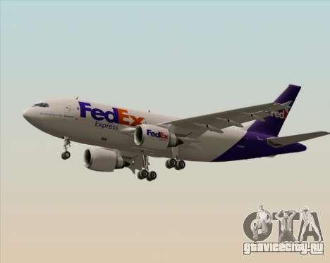 Airbus A310-300 Federal Express для GTA San Andreas колёса
