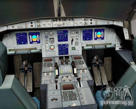 Airbus A330-300 Olympic Airlines для GTA San Andreas салон