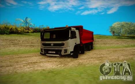 Volvo FMX для GTA San Andreas