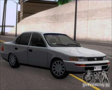 Toyota Corolla 1.6 для GTA San Andreas вид слева