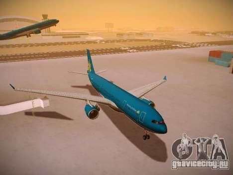 Airbus A330-200 Vietnam Airlines для GTA San Andreas вид сбоку